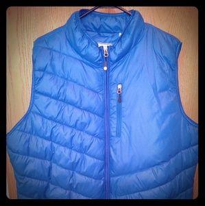 Clique xxxl blue puffer vest